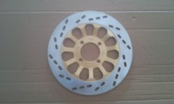 FRONT DISC BRAKE PLATE