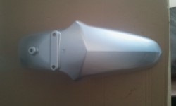 FRONT FENDER SILVER